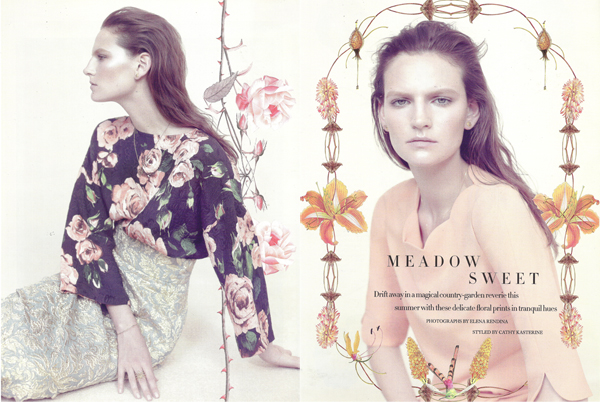 Meadow sweet por Elena Rendina