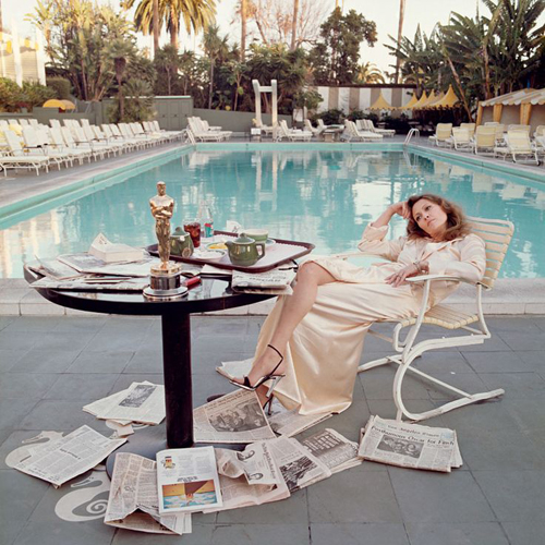Faye Dunaway by Terry O'Neill 1977