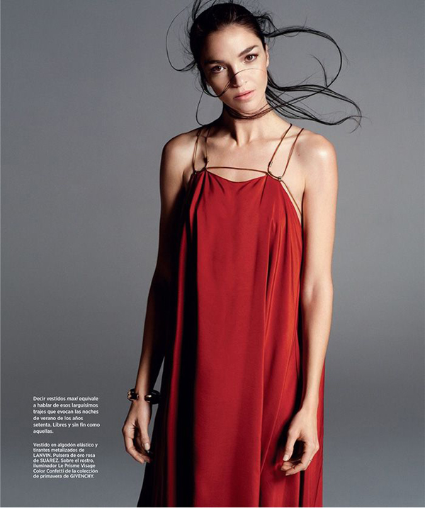 Mariacarla Boscono por Txema Yeste para Harpers Bazaar Spain Marzo 2015