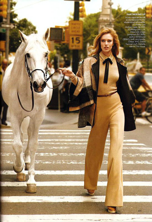 Raquel Zimmermann por Inez+Vinoodh para Vogue US Ago 2010