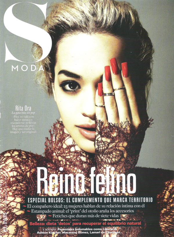 Rita Ora by Damon Baker for SModa Sept 2013