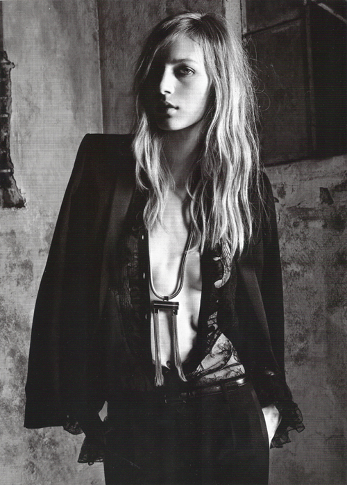 Saint Laurent Spring 2013 Campaign