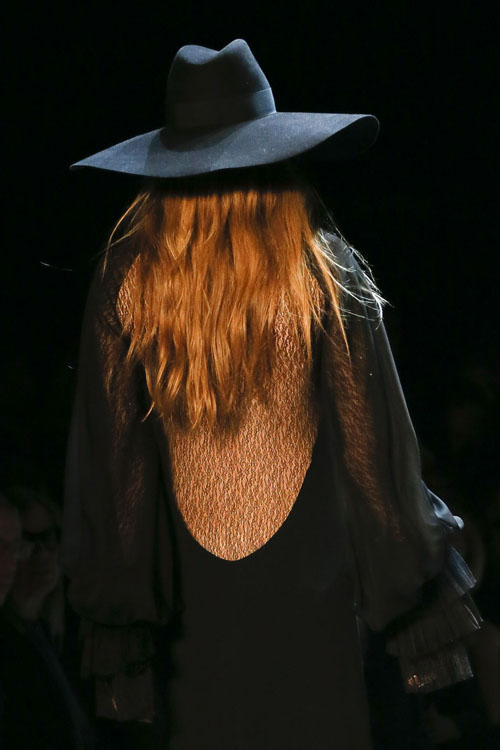 Saint Laurent Spring 2013 Detail