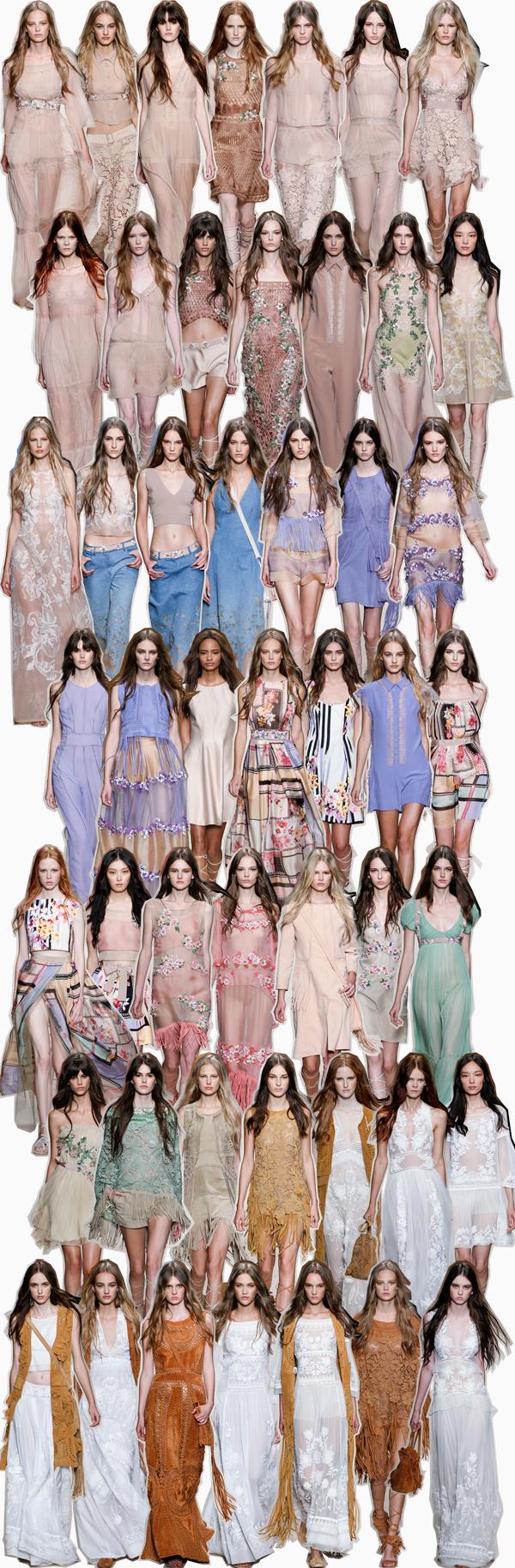 Alberta Ferretti Spring 2015 fashion show