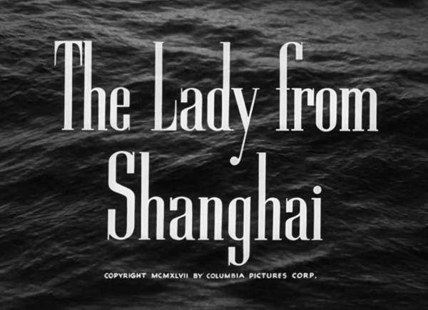 The Lady from Shanghai title