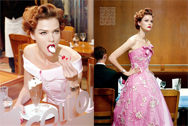 A precious glam by Miles Aldridge