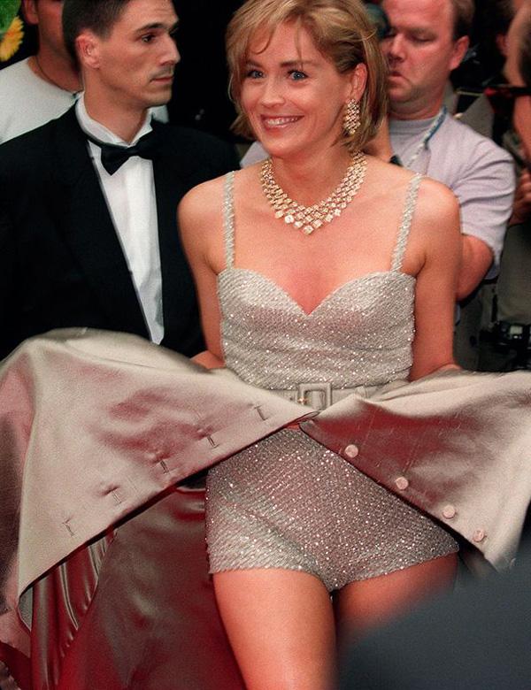 Sharon Stone en Cannes