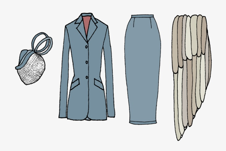 The Lady from Shanghai Court Outfit