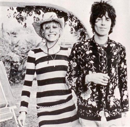 Anita Pallenberg+Keith Richards