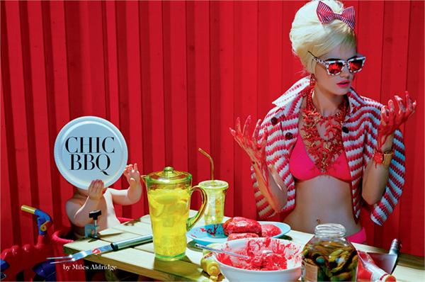 Chic BBQ by Miles Aldridge