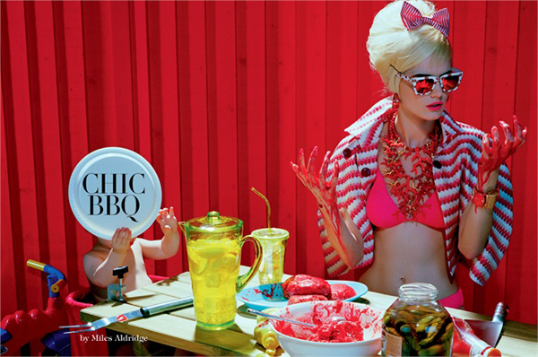Chic BBQ by Miles Aldridge