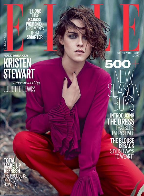 Elle UK September 2015 Cover