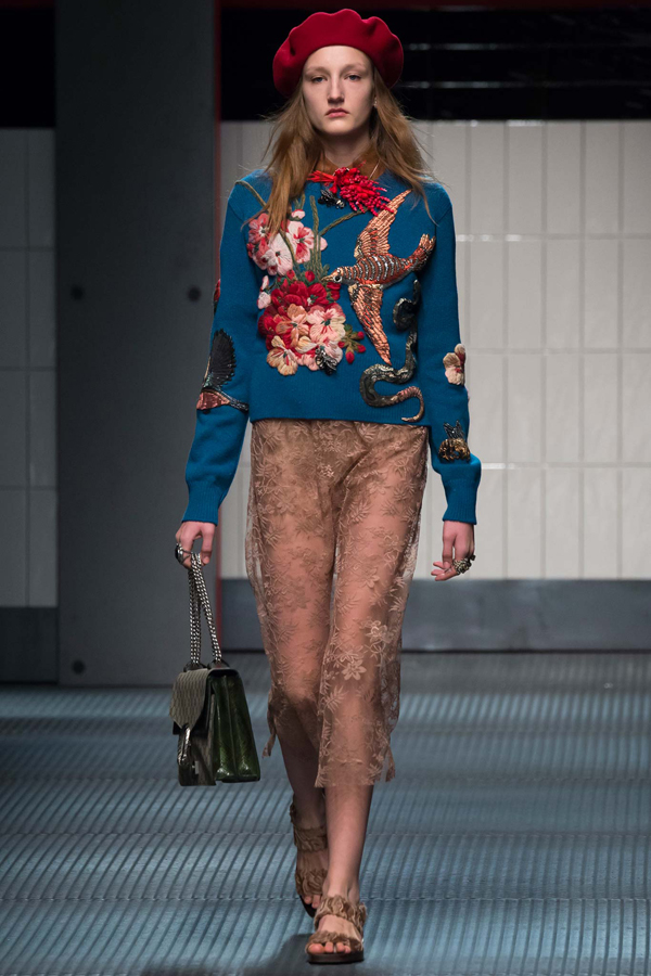 Gucci Fall 2014 look