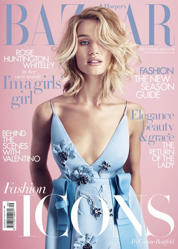 Harper's Bazaar UK September 2015
