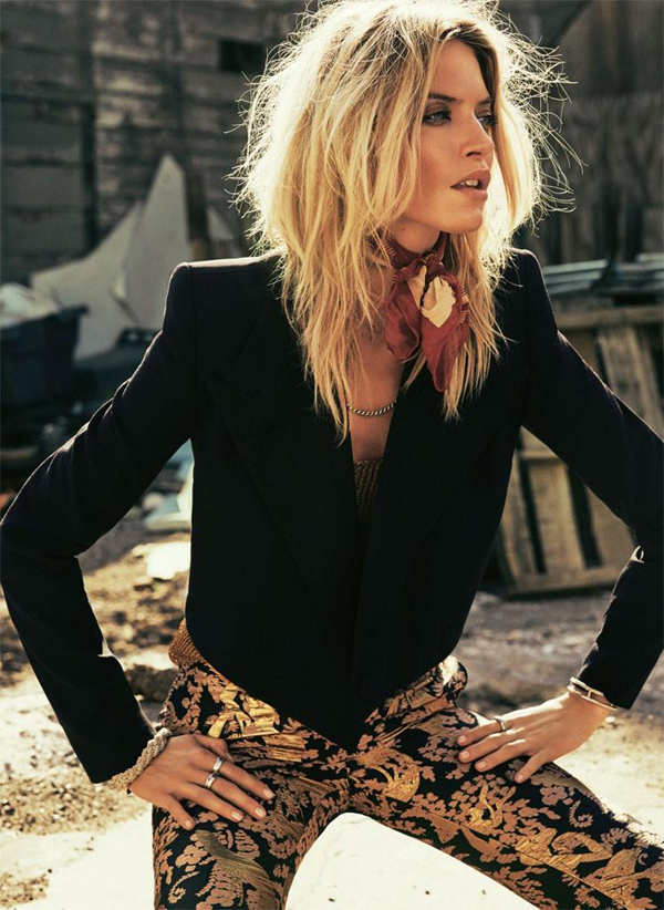 Martha Hunt by David Roemer for SModa July 2015