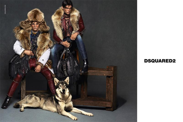 Dsquared² Fall 2015 Campaign