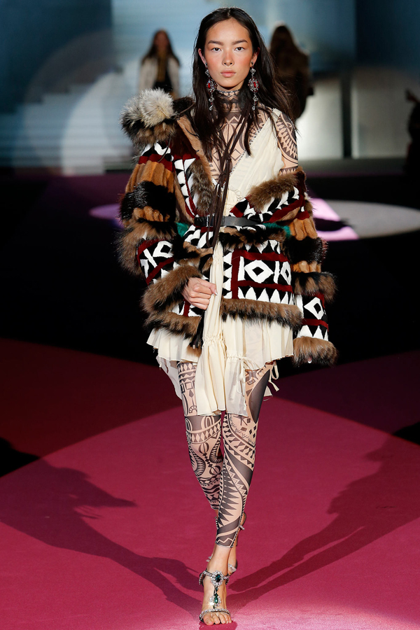 Dsquared² Fall 2015 Look