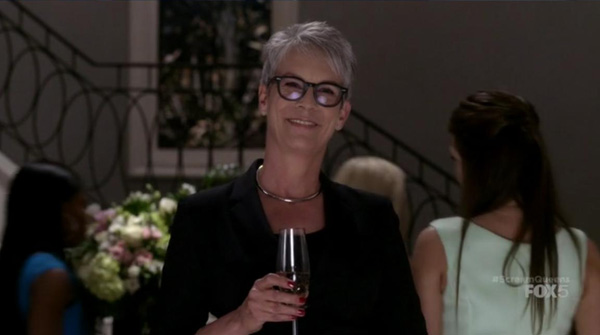 Jamie Lee Curtis in Scream Queens Pilot