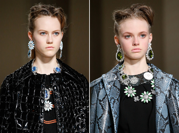 Miu Miu Fall 2015 Jewelry