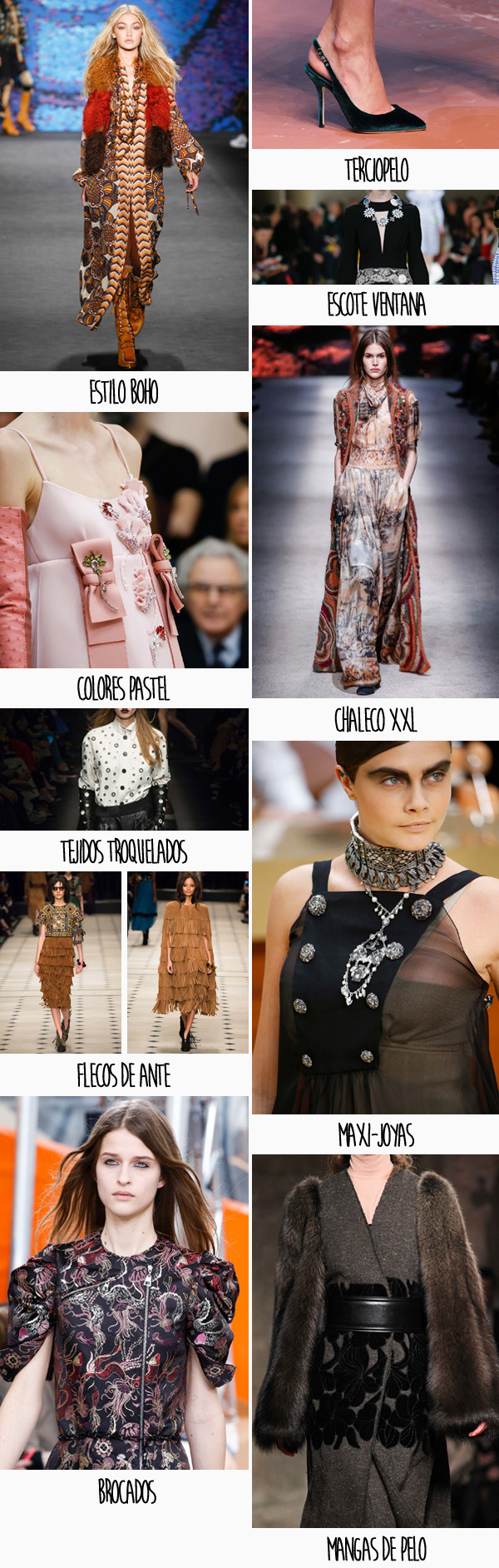 Tendencias Fall 2015 Detalles