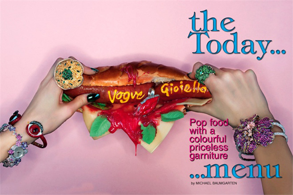 'The today menu' by Michael Baumgarten