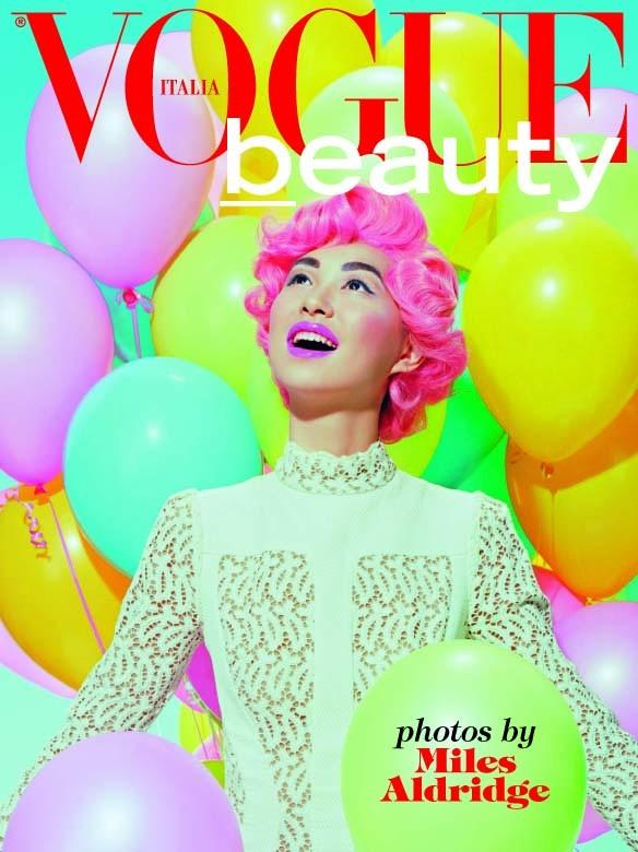 Vogue Italia Beauty June 2015 by Miles Aldridge