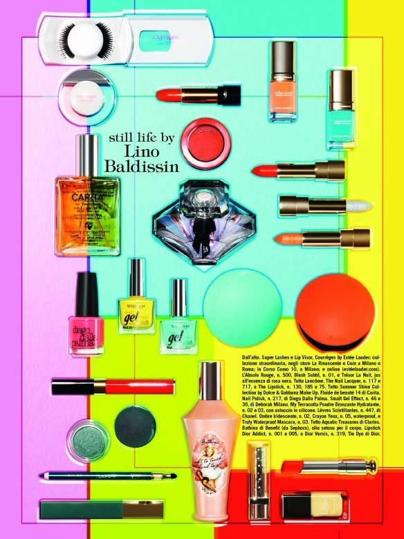 Vogue Italia Beauty June 2015 by Miles Aldridge