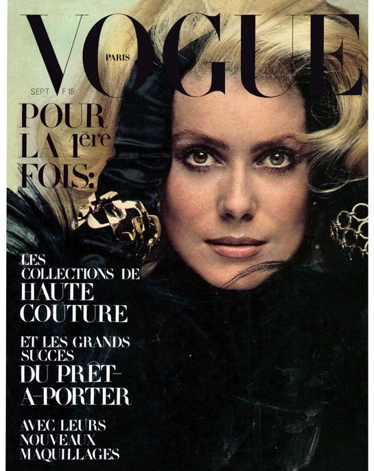 Catherine Deneuve by Jeanloup Sieff for Vogue Paris april 1962