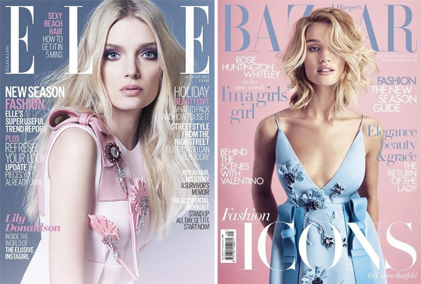 Elle UK, August 2015/Harper's Bazaar UK, September 2015