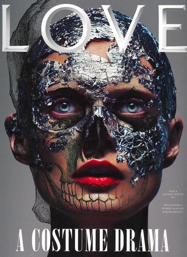 Malgosia Bela by Mert+Marcus for Love Magazine FW 2012