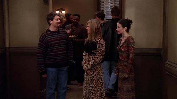 Rachel's leopard coat
