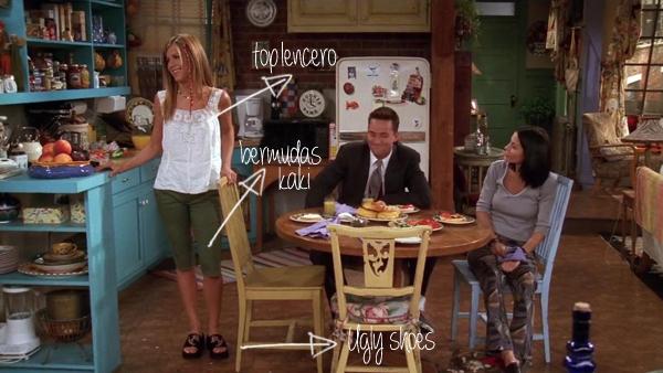 Rachel's summer outfit