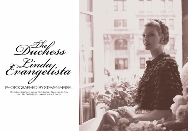 'The Duchess' by Steven Meisel