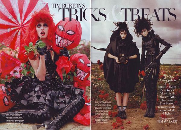 Tricks and treats by Tim Burton