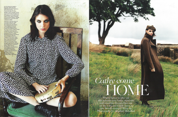 'Cathy come home' by Alasdair McLellan