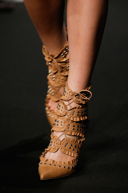 Lace up: Altuzarra Fall 2015