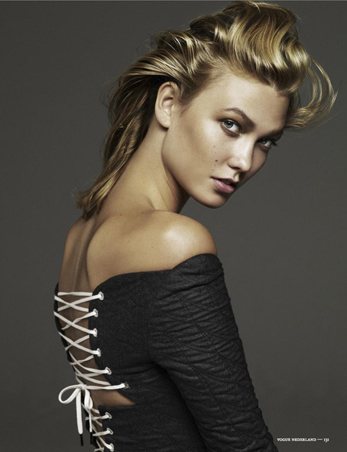 Lace up: Karlie Kloss by Alique