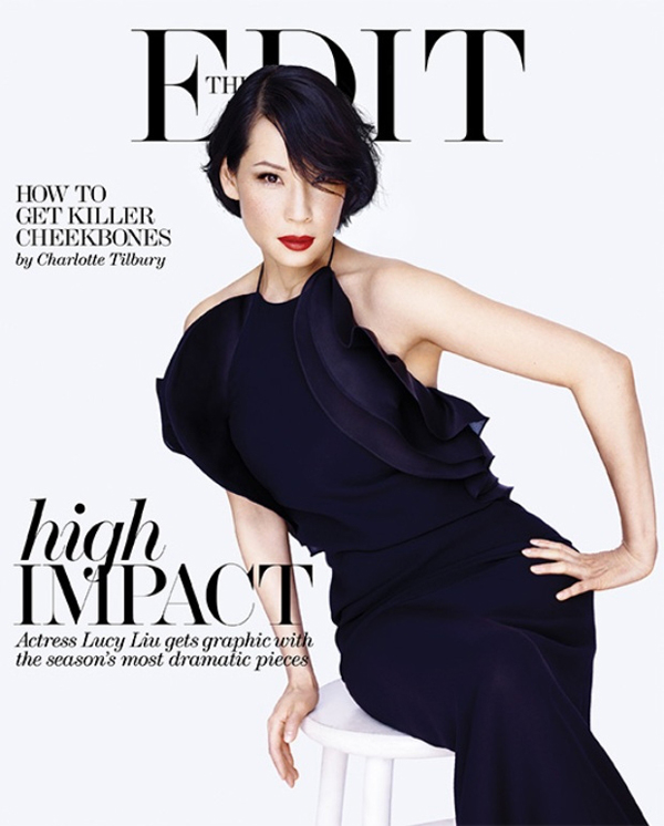 Lucy Liu by Mariano Vivanco for The Edit May 2013