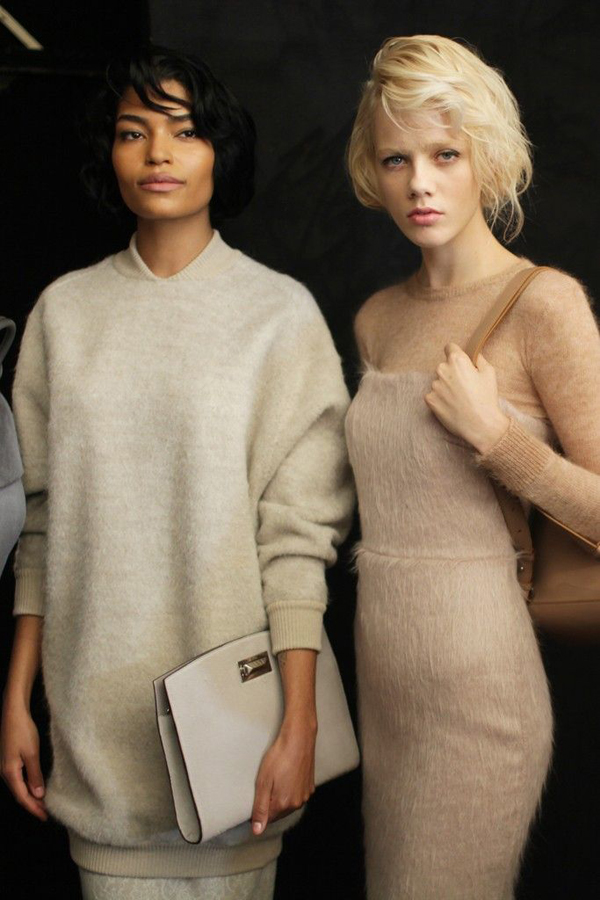Max Mara Fall 2015 Backstage
