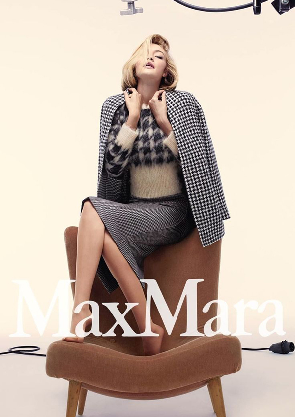Max Mara Fall 2015 Campaign