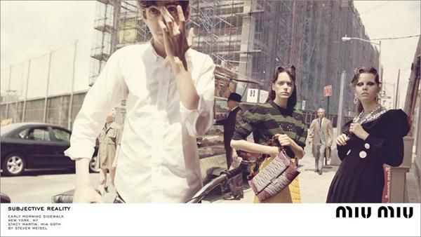 Miu Miu Fall 2015 Fashion Campaign