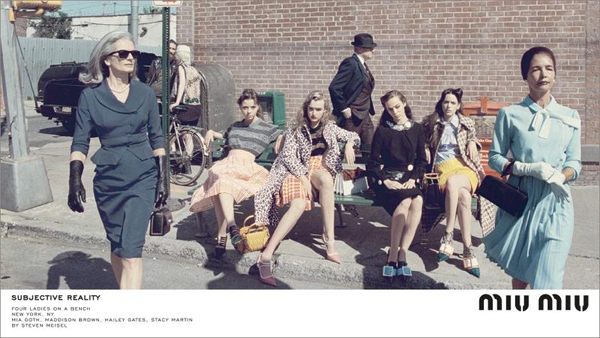 Miu Miu Fall 2015 Fashion Campaign