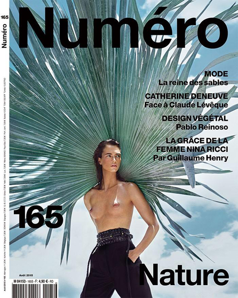 Crista Cober by Txema Yeste for Numéro August 2015 Cover