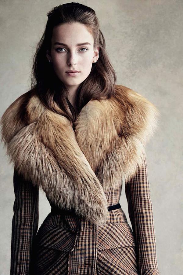 Julia Bergshoeff by Patrick Demarchelier for Vogue Germany Sept 2015