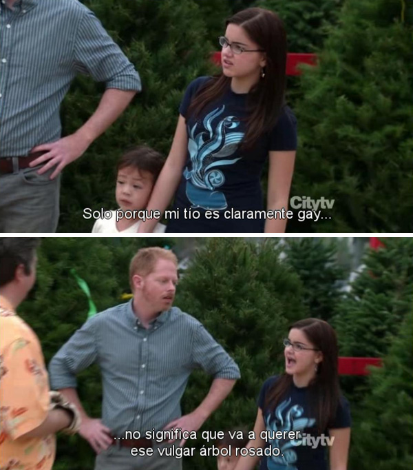 Modern family Express Christmas
