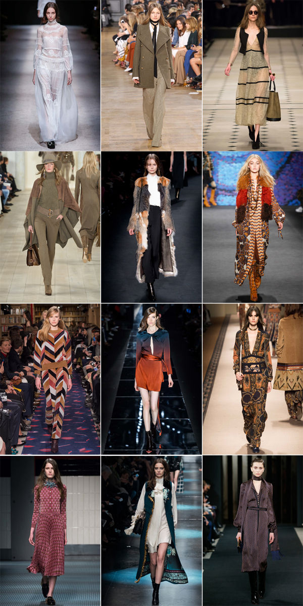 Seventies trend Fall 2015