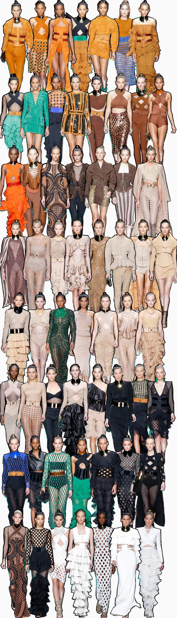Balmain Spring 2016 Fashion Show