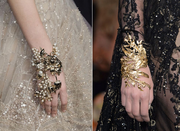 Elie Saab Haute Couture Fall 2015 Detail