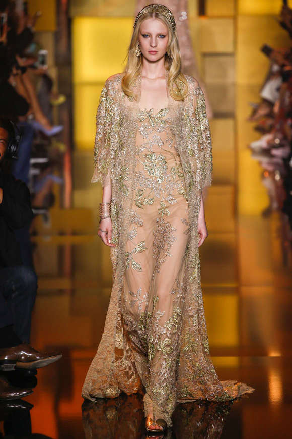 Elie Saab Haute Couture Fall 2015 Look