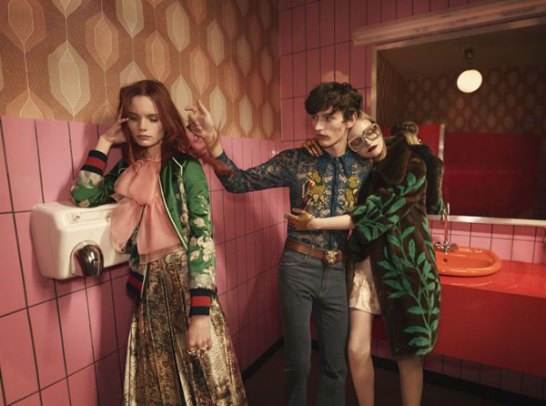 Gucci Spring 2016 Campaign by Glen Luchford